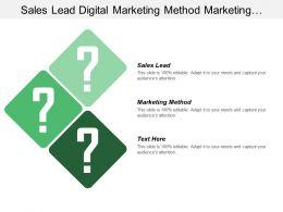 Sales Lead Digital Marketing Method Marketing Performance Metrics