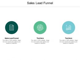 Sales Lead Funnel Ppt Powerpoint Presentation Ideas Portrait Cpb