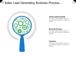 Sales Lead Generating Business Process Market Segment Strategy