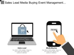 Sales Lead Media Buying Event Management Competitive Advantage Cpb