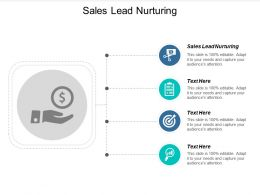 Sales Lead Nurturing Ppt Powerpoint Presentation Slides Graphics Design Cpb