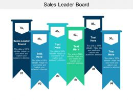 Sales Leader Board Ppt Powerpoint Presentation Slides Vector Cpb