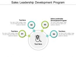 Sales Leadership Development Program Ppt Powerpoint Presentation Ideas Design Inspiration Cpb