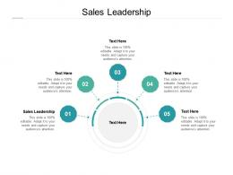 Sales Leadership Ppt Powerpoint Presentation Summary Example Introduction Cpb