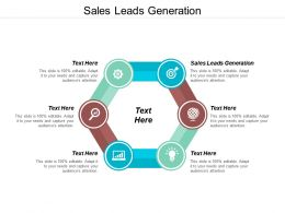 Sales Leads Generation Ppt Powerpoint Presentation Slides Master Slide Cpb
