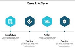 Sales Life Cycle Ppt Powerpoint Presentation Outline Show Cpb