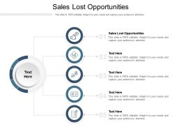 Sales Lost Opportunities Ppt Powerpoint Presentation Pictures Layout Ideas Cpb
