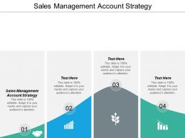 Sales Management Account Strategy Ppt Powerpoint Presentation Show Layout Ideas Cpb