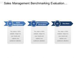 Sales Management Benchmarking Evaluation Production Planning Sales Service