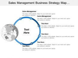 Sales Management Business Strategy Map Automated Deal Coaching