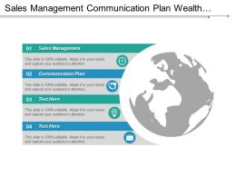 Sales Management Communication Plan Wealth Management Digital Marketing Strategy Cpb
