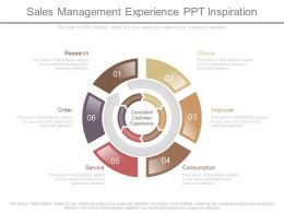 Sales Management Experience Ppt Inspiration
