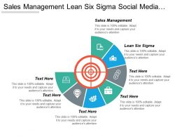 Sales Management Lean Six Sigma Social Media Management Cpb