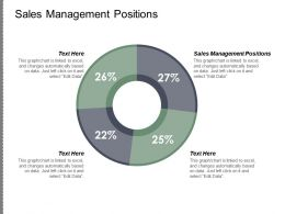 Sales Management Positions Ppt Powerpoint Presentation Model Graphics Example Cpb