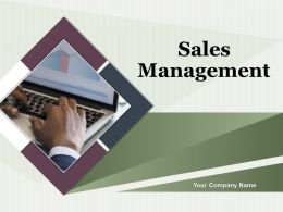 Sales Management Powerpoint Presentation Slides