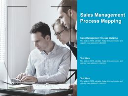 Sales Management Process Mapping Ppt Powerpoint Presentation Ideas Infographics Cpb