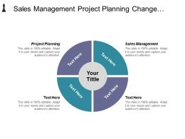Sales Management Project Planning Change Management Executive Summary Cpb