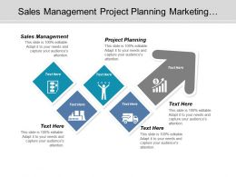 Sales Management Project Planning Marketing Opportunity Business Marketing Cpb