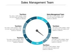 Sales Management Team Ppt Powerpoint Presentation Infographic Template Information Cpb