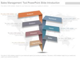 Sales Management Tool Powerpoint Slide Introduction
