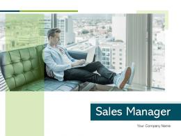 Sales Manager Planning Revenues Dashboard Generation Business Product Development