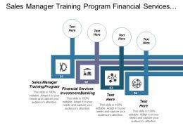 Sales Manager Training Program Financial Services Investment Banking Cpb