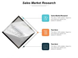 Sales Market Research Ppt Powerpoint Presentation Inspiration Microsoft Cpb