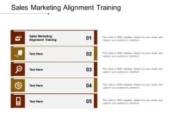 Sales Marketing Alignment Training Ppt Powerpoint Presentation Infographics Clipart Images Cpb