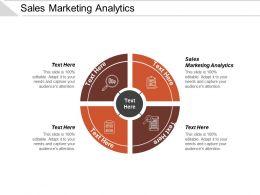 Sales Marketing Analytics Ppt Powerpoint Presentation File Graphics Tutorials Cpb
