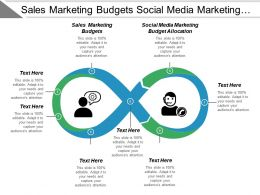Sales Marketing Budgets Social Media Marketing Budget Allocation Cpb