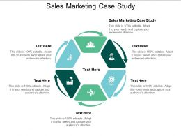 Sales Marketing Case Study Ppt Powerpoint Presentation Pictures Visual Aids Cpb