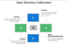 Sales Marketing Collaboration Ppt Powerpoint Presentation File Files Cpb