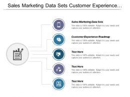 Sales Marketing Data Sets Customer Experience Roadmap Capital Program Cpb
