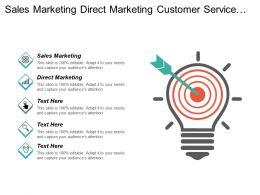 Sales Marketing Direct Marketing Customer Service Management Plan Cpb