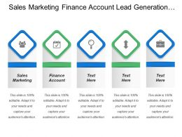 Sales Marketing Finance Account Lead Generation Appointment Setting