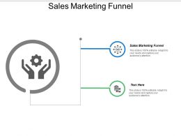 Sales Marketing Funnel Ppt Powerpoint Presentation File Master Slide Cpb