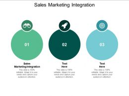 Sales Marketing Integration Ppt Powerpoint Presentation Show Example Cpb
