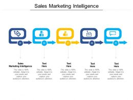 Sales Marketing Intelligence Ppt Powerpoint Presentation Icon Ideas Cpb