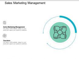 Sales Marketing Management Ppt Powerpoint Presentation Summary Inspiration Cpb