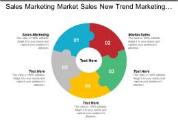 Sales Marketing Market Sales New Trend Marketing Customer Service