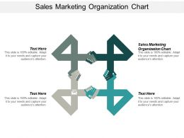 Sales Marketing Organization Chart Ppt Powerpoint Presentation Infographic Template Good Cpb