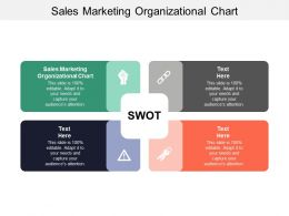 Sales Marketing Organizational Chart Ppt Powerpoint Presentation Gallery Background Designs Cpb