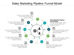 Sales Marketing Pipeline Funnel Model Ppt Powerpoint Presentation Summary Example File Cpb