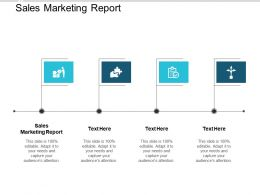 Sales Marketing Report Ppt Powerpoint Presentation Examples Cpb