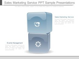 Sales Marketing Service Ppt Sample Presentations