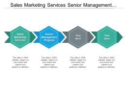 Sales Marketing Services Senior Management Program Organizational Solutions Cpb