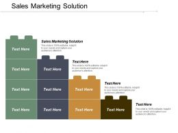 Sales Marketing Solution Ppt Powerpoint Presentation Infographics Show Cpb