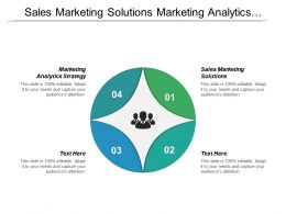 Sales Marketing Solutions Marketing Analytics Strategy Best Business Utilities Cpb