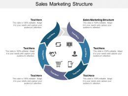 Sales Marketing Structure Ppt Powerpoint Presentation Slides Graphics Tutorials Cpb