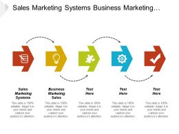 Sales Marketing Systems Business Marketing Sales Marketing Lifecycle Cpb